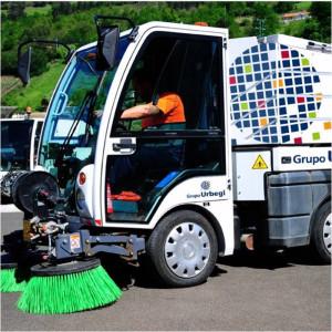 Camión de limpieza de Ubegi