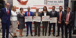 Premio de Banco Santander y la Cámara de Comercio de España por la aportación de Urbegi a la generación de empleo (Oct.2018)