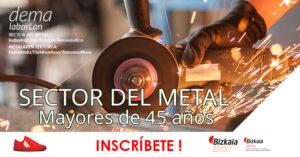 Laborlan empleo sector del metal, industria electrónico aeronáutico