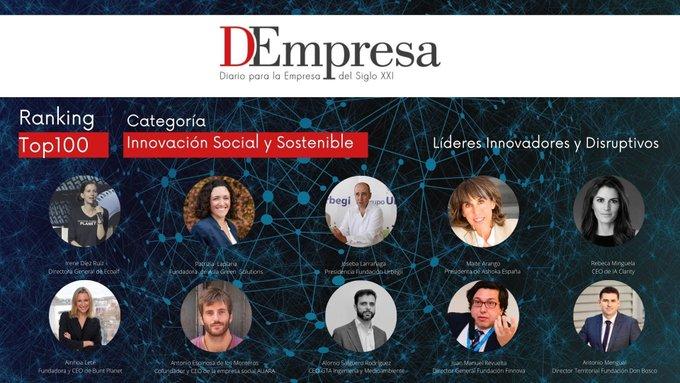 Javier Larrañaga de Urbegi en el ranking de innovación social